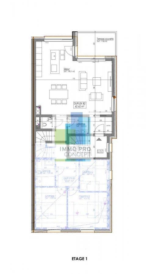 acheter duplex 3 chambres 155.21 m² frisange photo 3