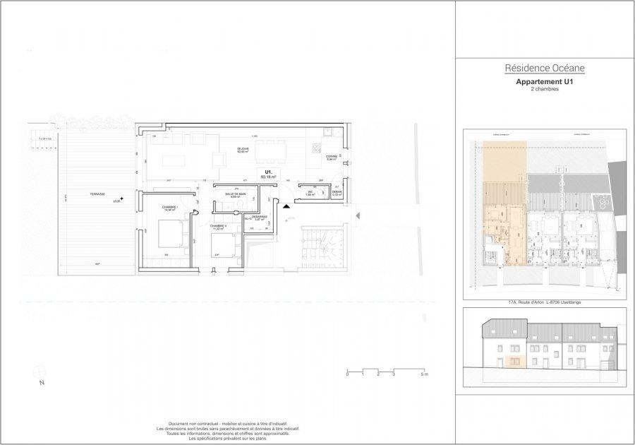 acheter appartement 2 chambres 93.18 m² useldange photo 3