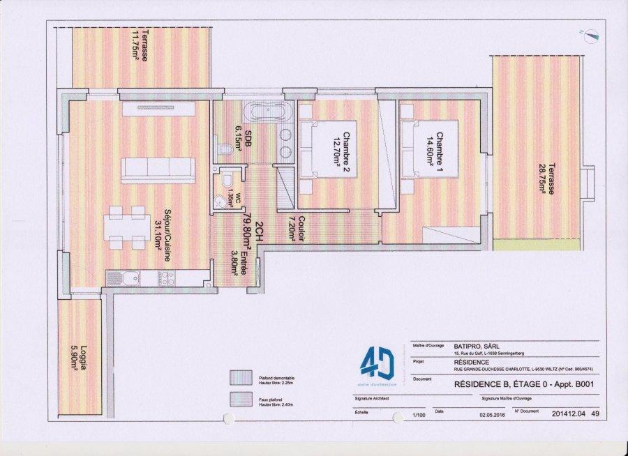 Appartement en vente wiltz 79 8 m 344 800 athome for Acheter un appartement en construction