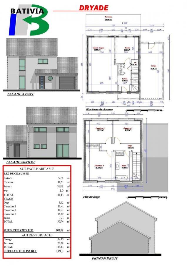 acheter maison individuelle 6 pièces 104 m² chambley-bussières photo 3