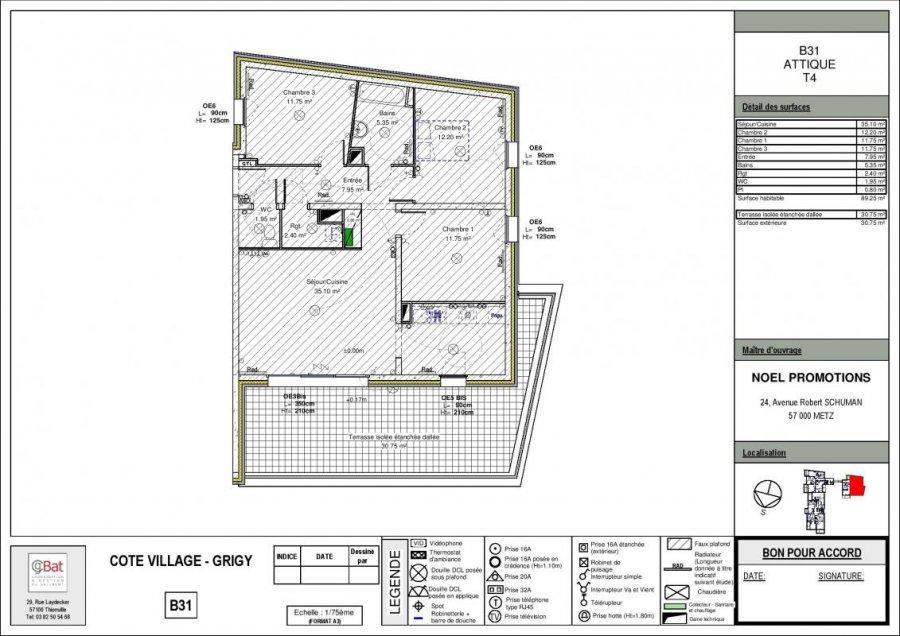 apartment for buy 4 rooms 89 m² metz photo 1
