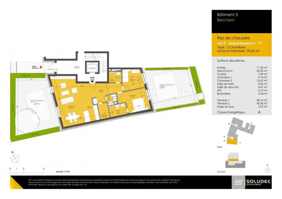 apartment for buy 2 bedrooms 92.6 m² berchem photo 1