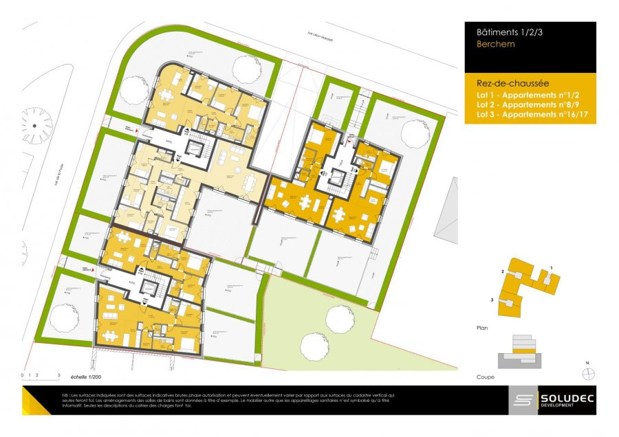 apartment for buy 2 bedrooms 92.6 m² berchem photo 2