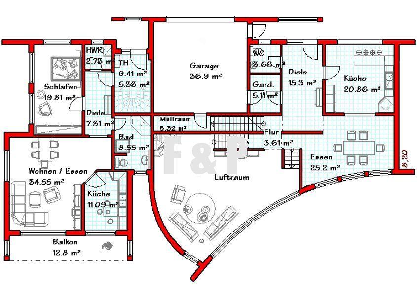 Einfamilienhaus kaufen kenn 500 m athome for Grundriss luxushaus