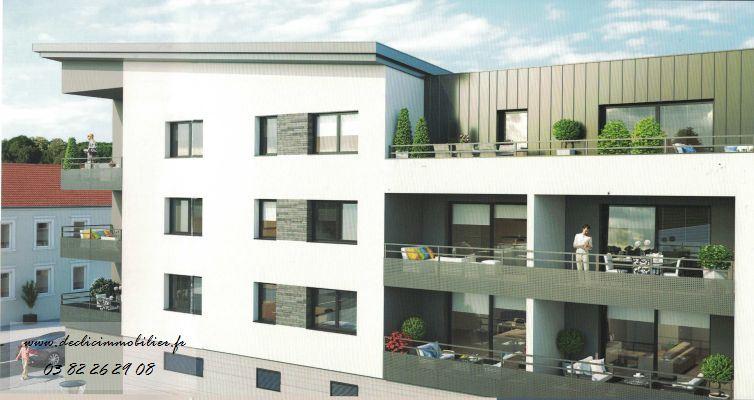 acheter appartement 3 pièces 66 m² longlaville photo 2