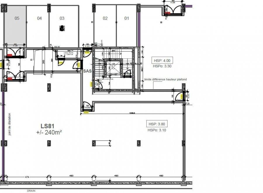 warehouse for rent 0 bedroom 240 m² windhof (koerich) photo 1