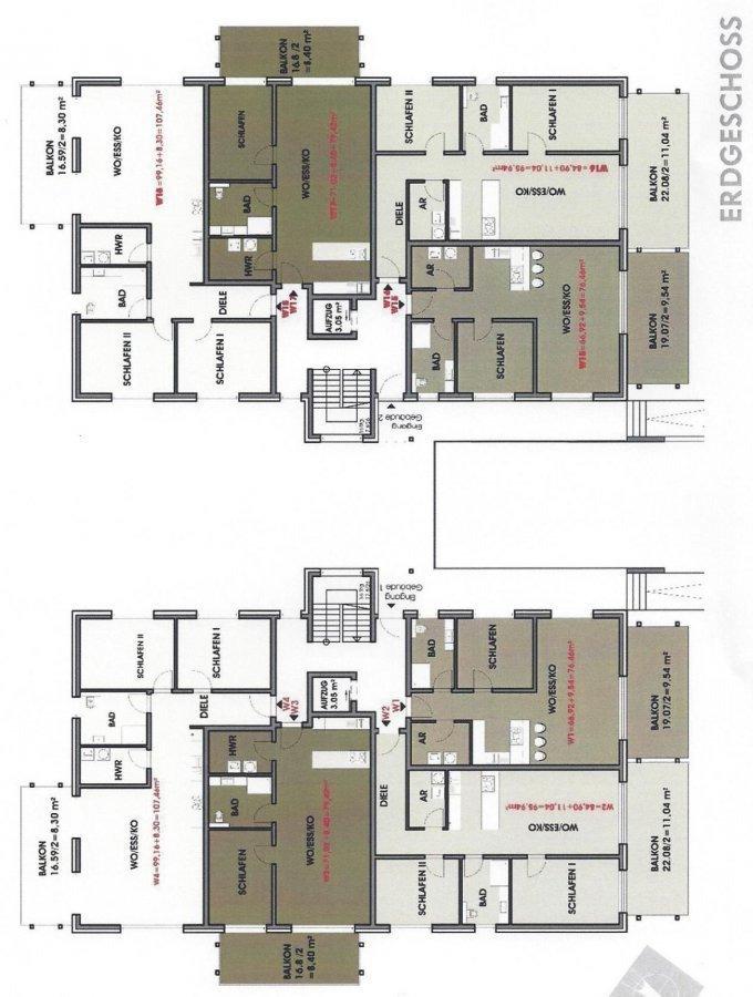 wohnung kaufen 3 zimmer 95.94 m² perl foto 3