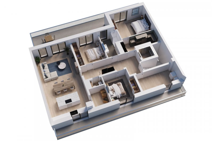 wohnung kaufen 3 schlafzimmer 118 m² wemperhardt foto 2