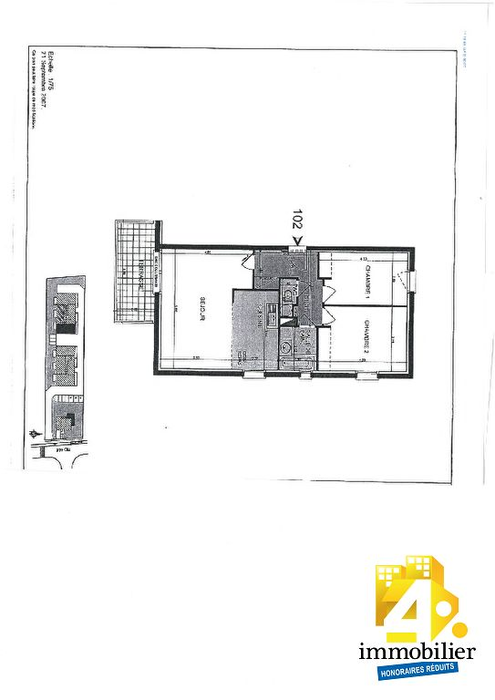 acheter appartement 3 pièces 68 m² biesheim photo 3