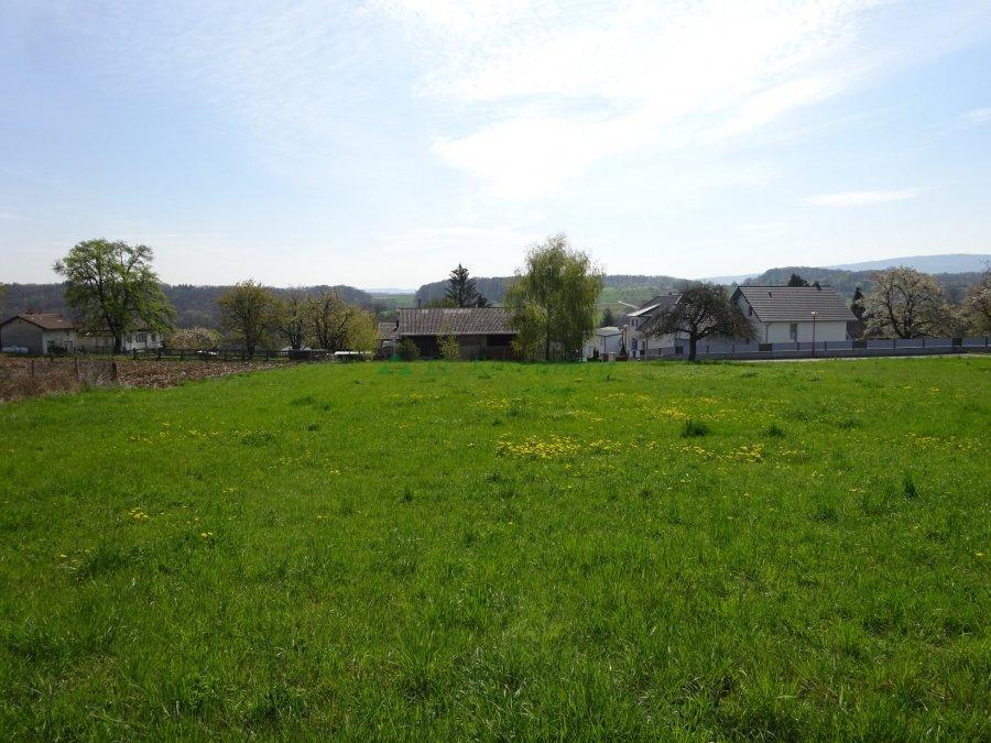Terrain constructible à vendre à Hagenthal le bas