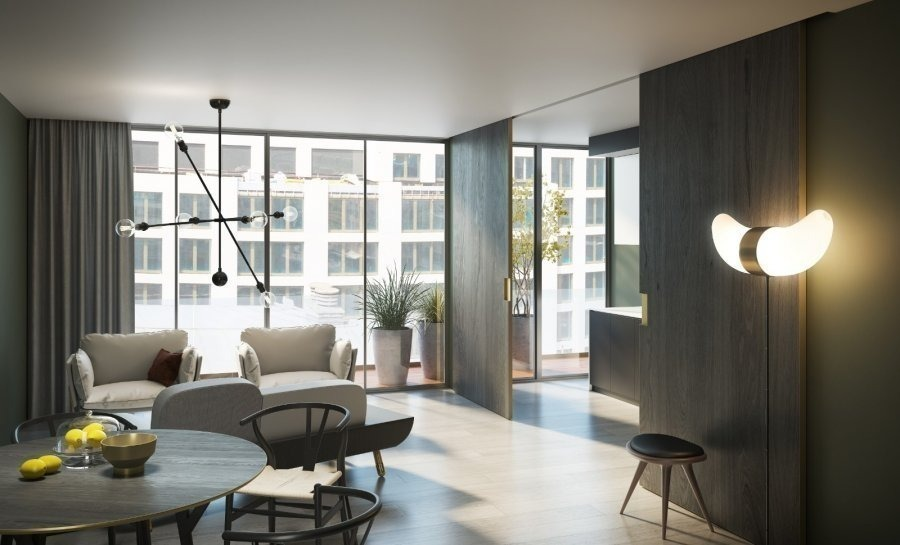 acheter appartement 1 chambre 86.77 m² luxembourg photo 2
