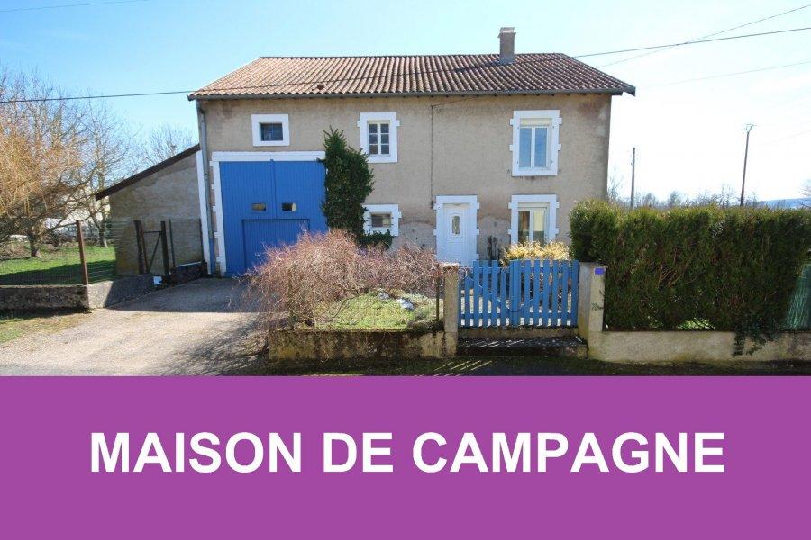Maison individuelle en vente sampigny 143 m 138 500 for Acheter une maison de campagne
