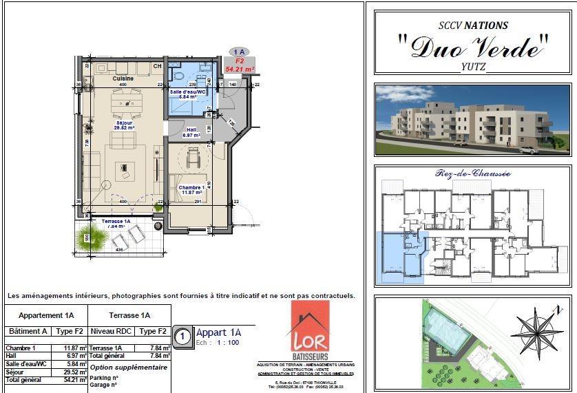acheter appartement 2 pièces 54.21 m² yutz photo 2