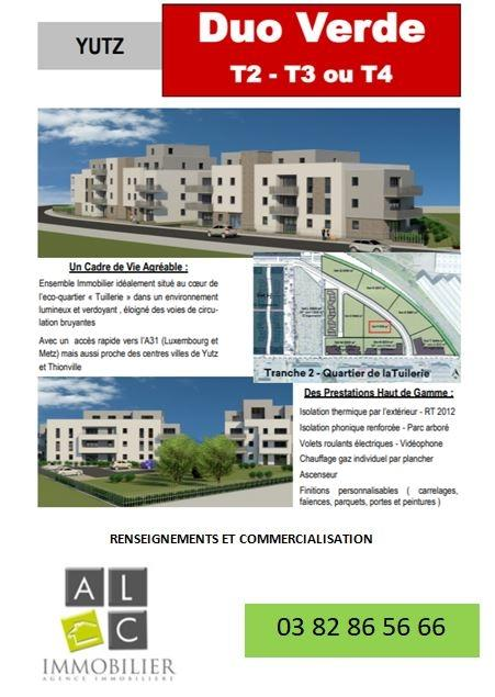 acheter appartement 2 pièces 54.21 m² yutz photo 1