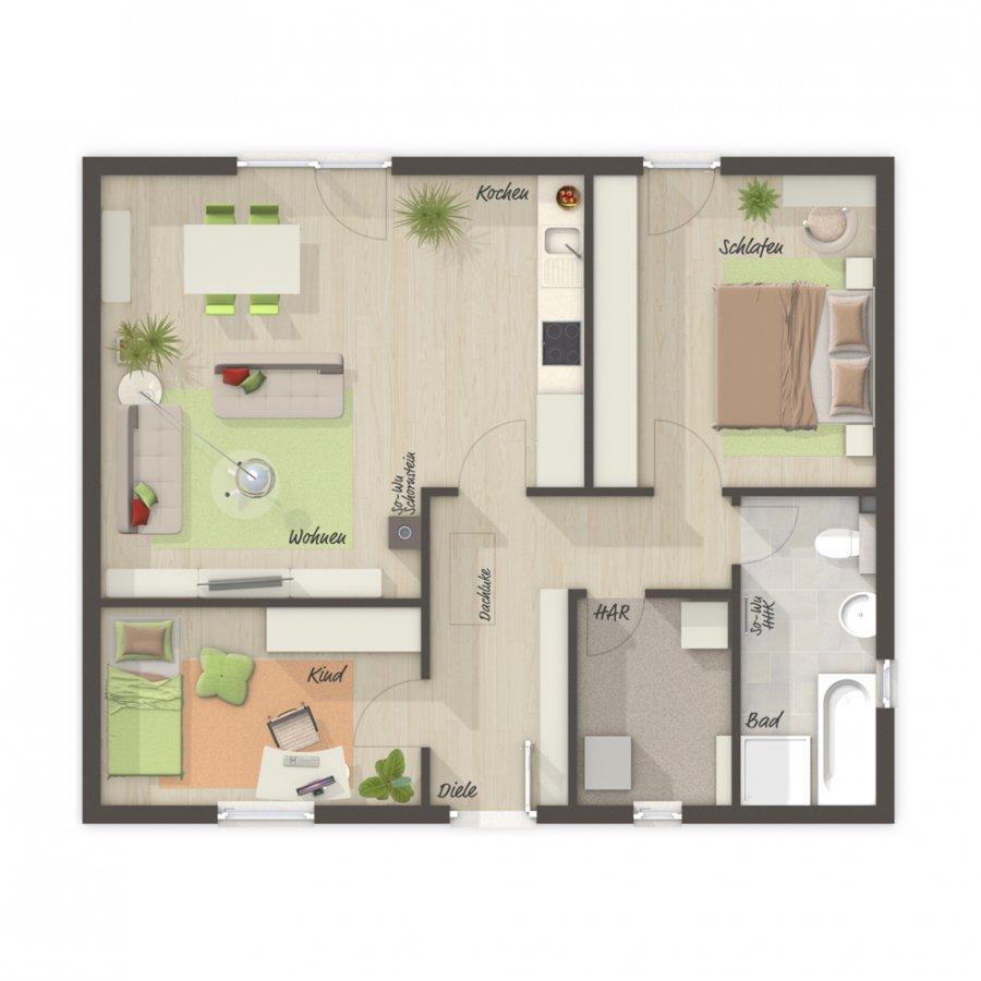 haus kaufen 3 zimmer 78 m² perl foto 4