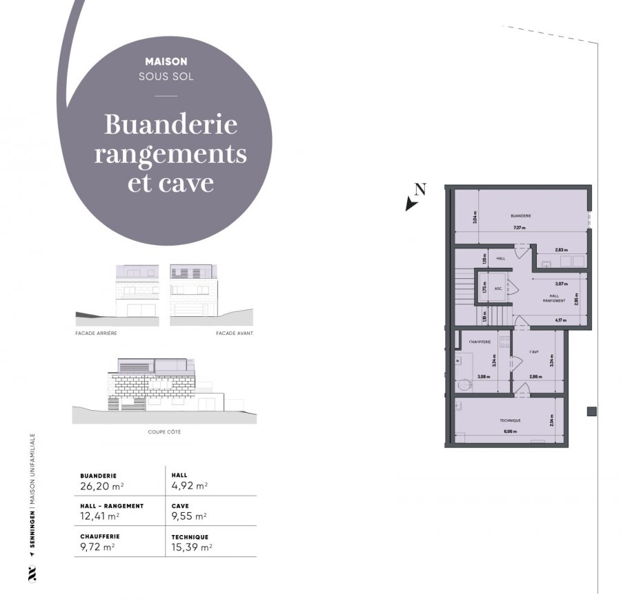 acheter villa 5 chambres 350 m² senningen photo 3