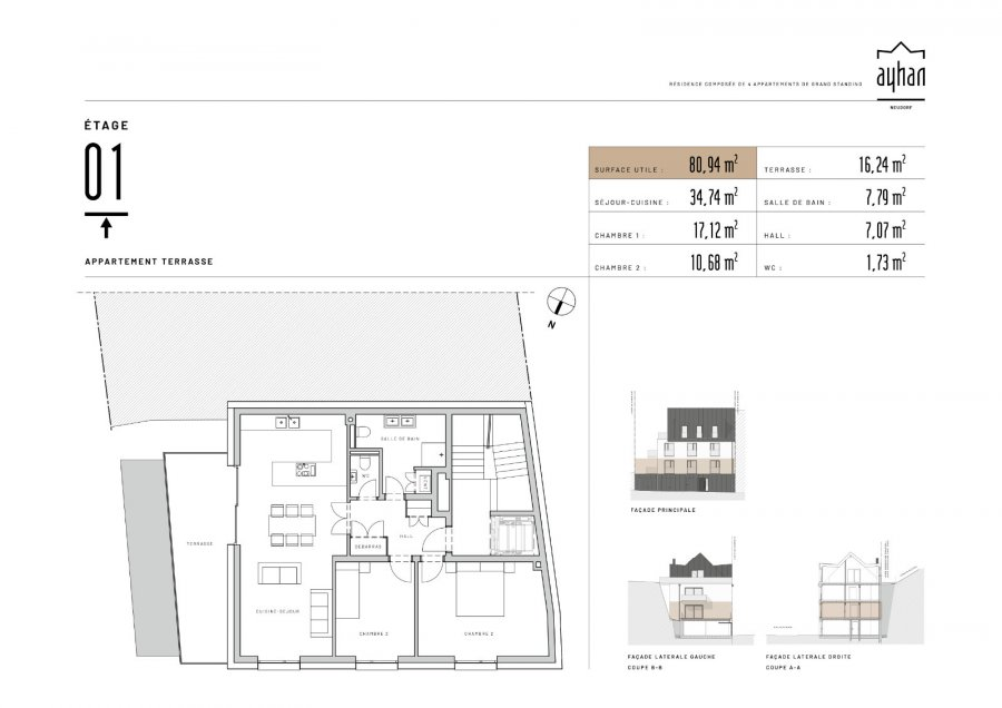 apartment for buy 2 bedrooms 89.06 m² luxembourg photo 2