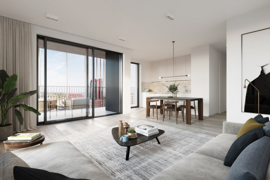 acheter appartement 2 chambres 74.11 m² belval photo 4