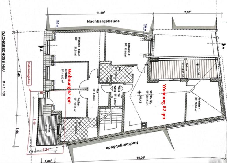 wohnung mieten 2 zimmer 67 m² freudenburg foto 2