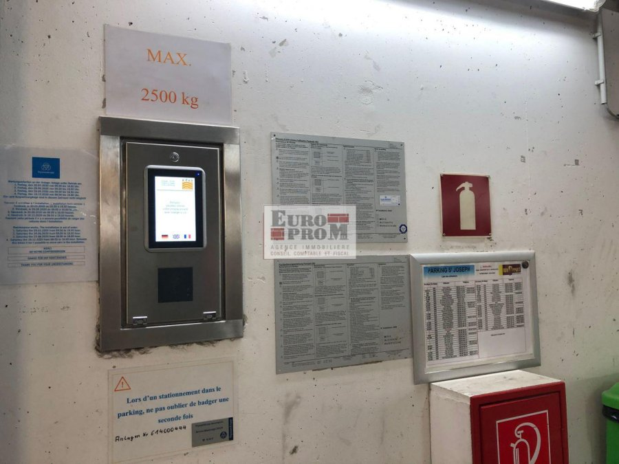 louer garage-parking 0 chambre 0 m² luxembourg photo 6
