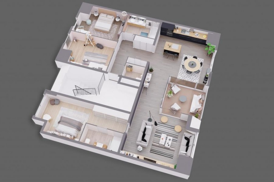 acheter appartement 3 chambres 121.56 m² bofferdange photo 6