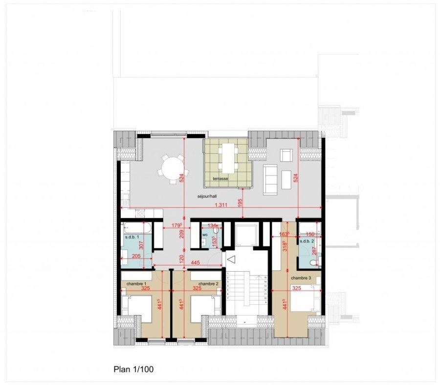 acheter appartement 3 chambres 121.56 m² bofferdange photo 5