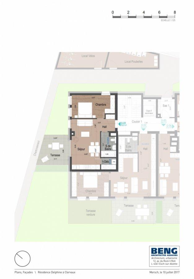 acheter appartement 1 chambre 53.15 m² clervaux photo 4