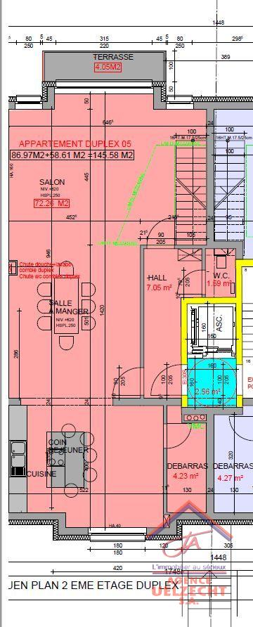 acheter appartement 3 chambres 145.58 m² kayl photo 2