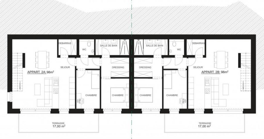 acheter résidence 1 chambre 72 m² wiltz photo 7