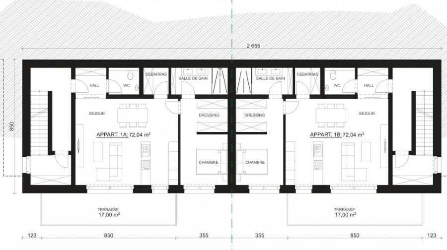 acheter résidence 1 chambre 72 m² wiltz photo 6