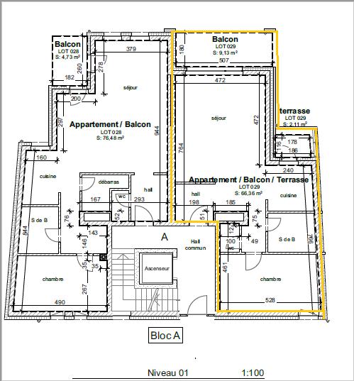 Appartement à vendre 1 chambre à Wiltz