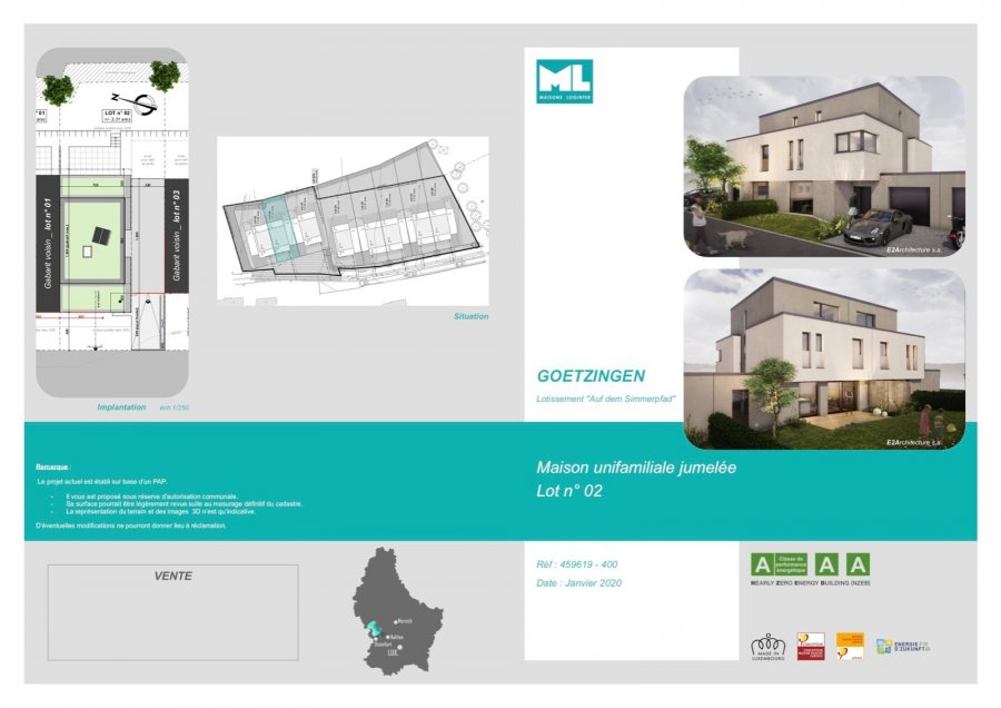 acheter maison 5 chambres 194 m² capellen photo 3