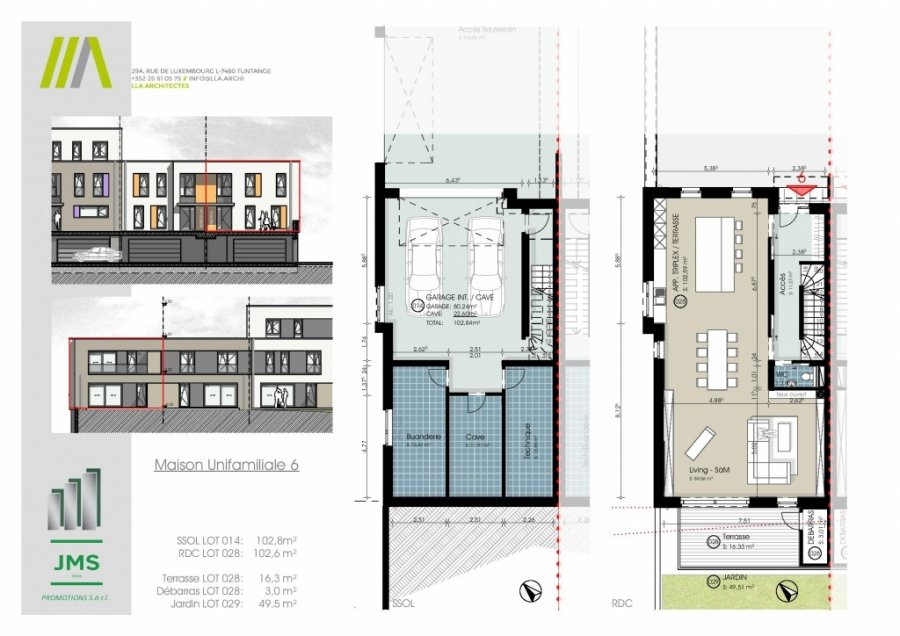 acheter maison jumelée 3 chambres 294.31 m² bridel photo 1
