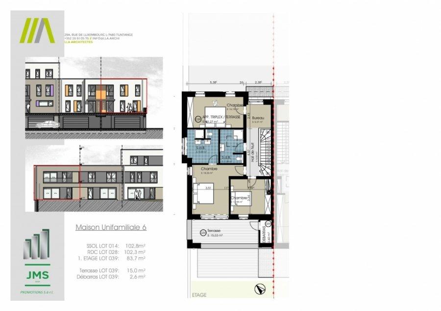 acheter maison jumelée 3 chambres 294.31 m² bridel photo 2