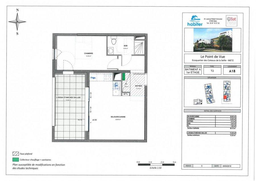 apartment for buy 2 rooms 44 m² metz photo 1