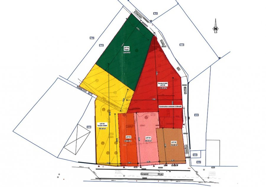 Maison à vendre F4 à Bouxieres sous froidmont