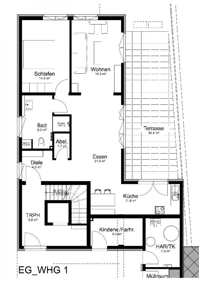 wohnung kaufen 3 zimmer 84 m² losheim foto 1