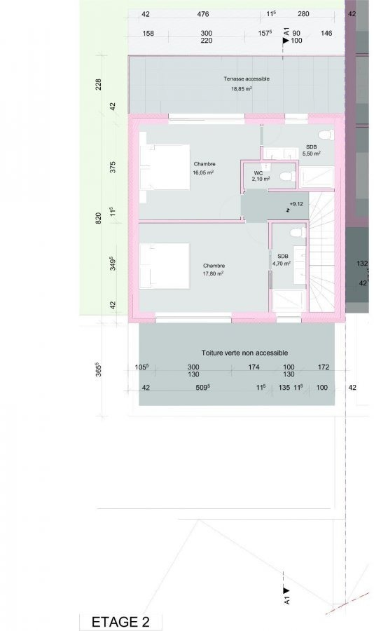 acheter maison individuelle 6 chambres 210 m² wintrange photo 3