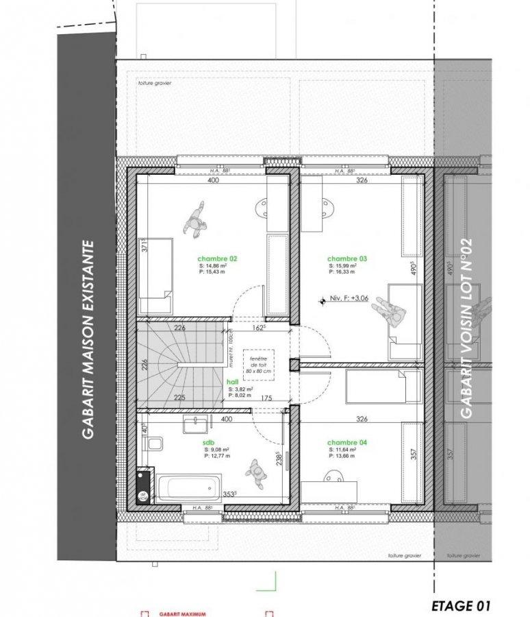 acheter maison jumelée 4 chambres 167 m² moesdorf photo 6