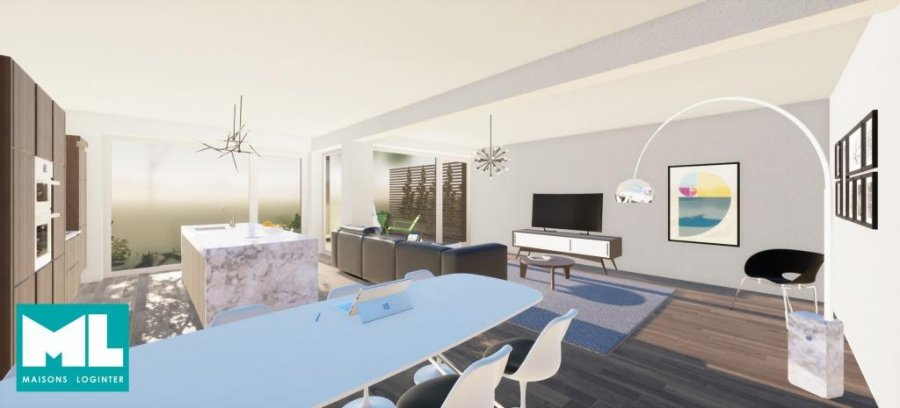 acheter maison jumelée 4 chambres 167 m² moesdorf photo 3