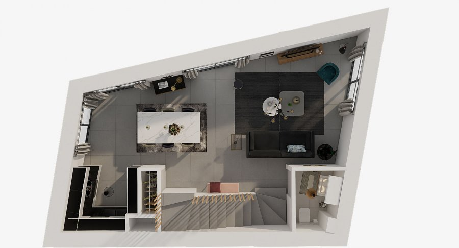 acheter duplex 2 chambres 77.68 m² luxembourg photo 5