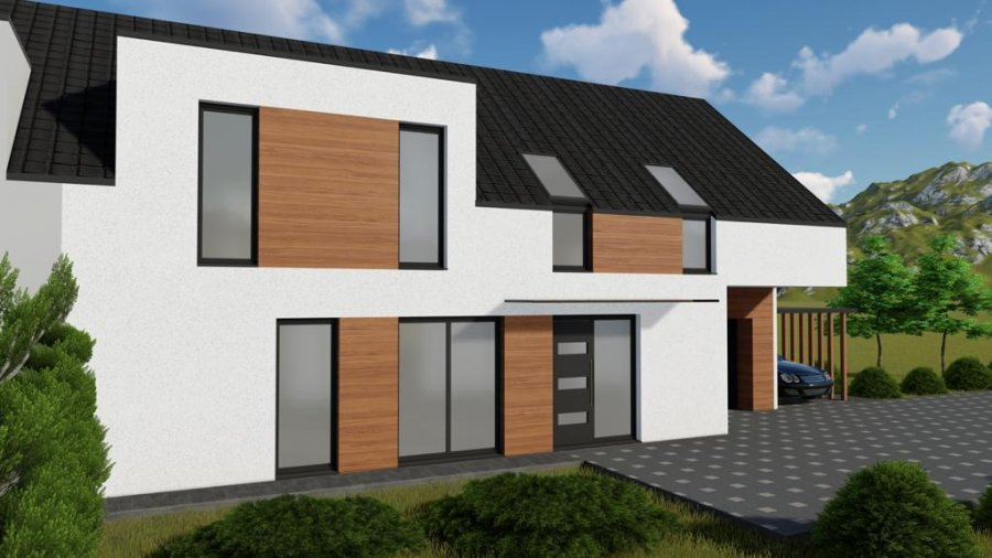 Maison mitoyenne à vendre 4 chambres à Derenbach