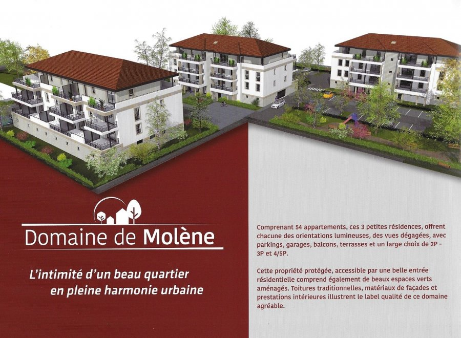 acheter appartement 2 pièces 45.37 m² moulins-lès-metz photo 1