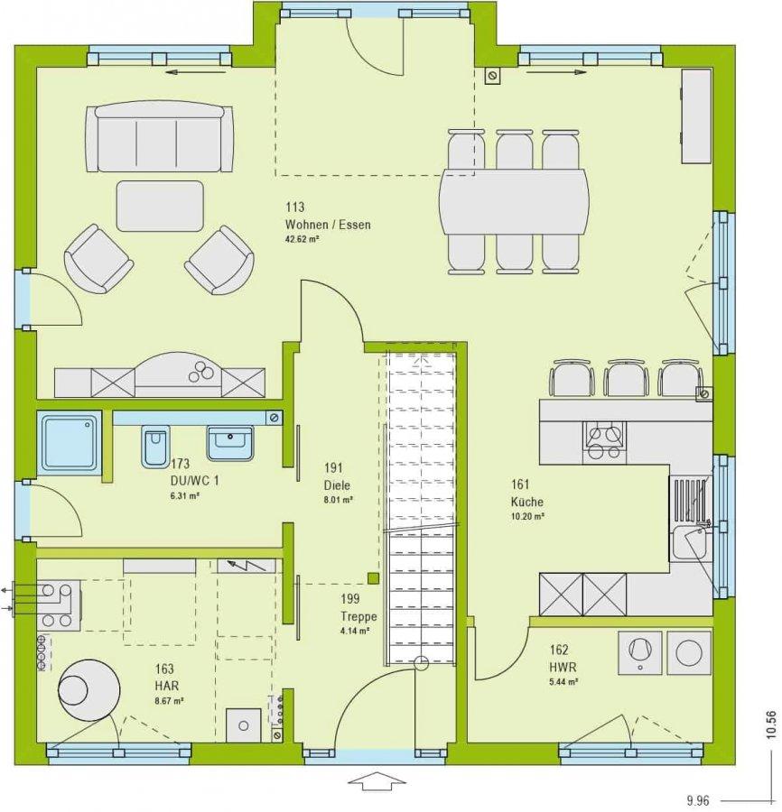 haus kaufen 4 zimmer 153 m² hinzenburg foto 7