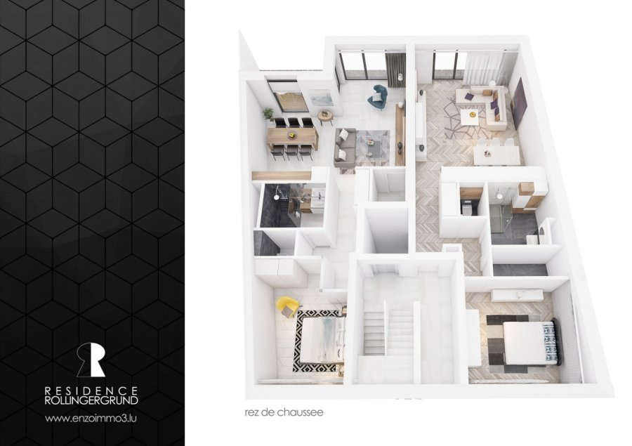 apartment for buy 1 bedroom 64.56 m² luxembourg photo 4