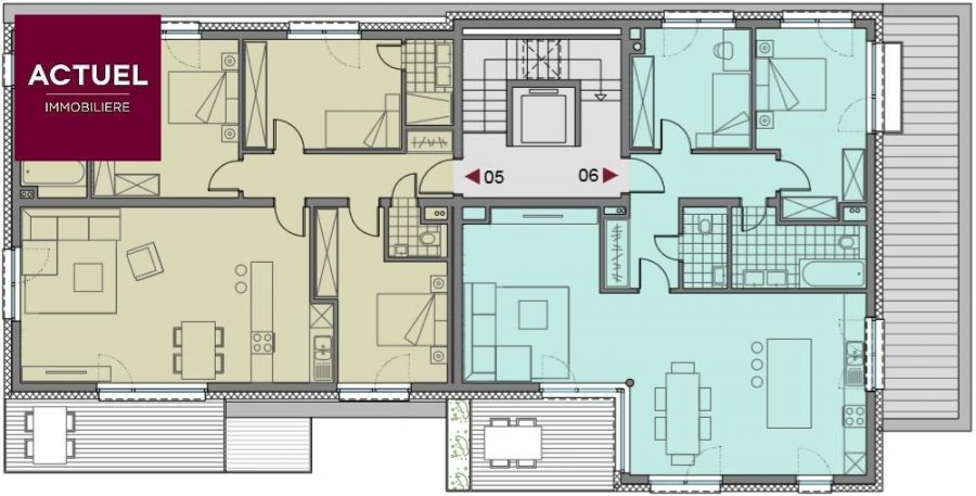 penthouse for buy 2 bedrooms 103.46 m² dippach photo 3
