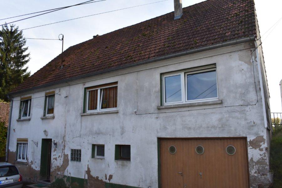 Maison à vendre F6 à Volmunster