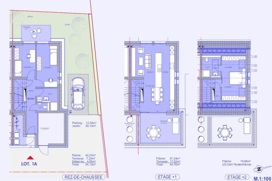 reihenhaus kaufen 3 schlafzimmer 109.32 m² niederanven foto 3