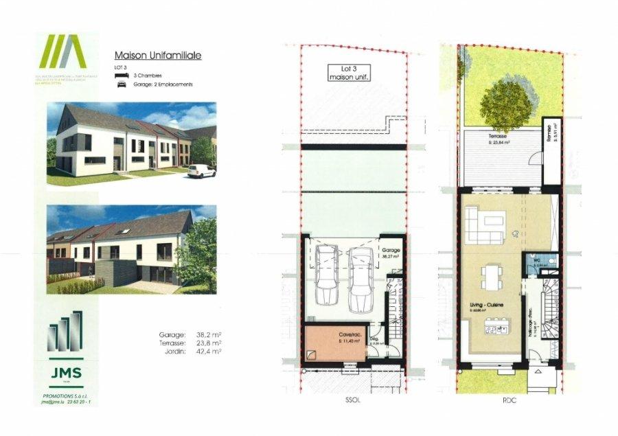 Maison individuelle à vendre 3 chambres à Altrier