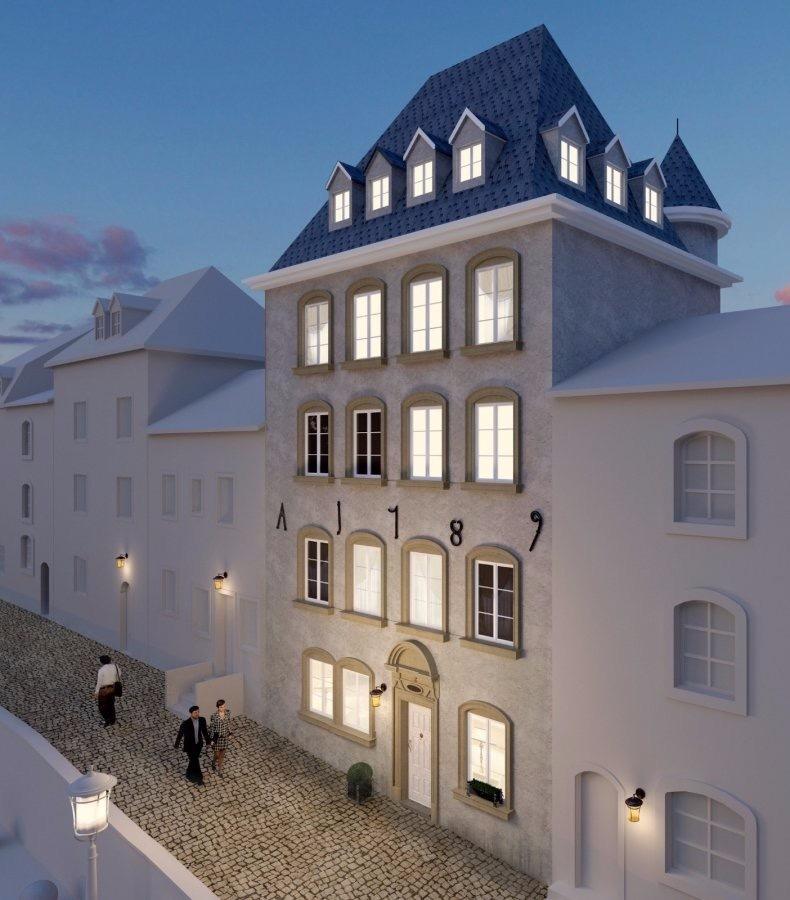Appartement à vendre 2 chambres à Luxembourg-Grund